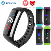 Teamyo Color Screen Smart Band Blood Pressure Watch Heart Rate Blood Oxygen Activity Tracker Fitness Smart