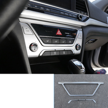 lsrtw2017 stainless steel car center control panel trims for hyundai elantra 2016 2017 2018 2019 2020 lsrtw2017 stainless steel car wheel hup cap panel for hyundai santa fe 4th generation 2019 2020