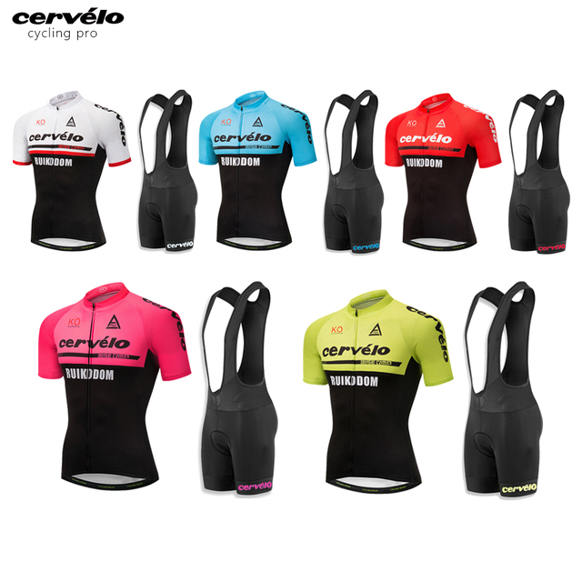 399cc4f96 100% Polyester Pro Cycling Jersey Set MTB Bicycle Clothes Men Bike Clothing  Breathable Maillot Ropa