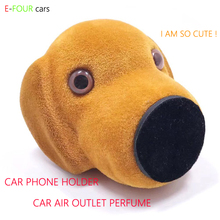 E FOUR Carton Car Air Outlet Perfume Phone Holder Doll Decoration and Functional Magnetic Car Phone