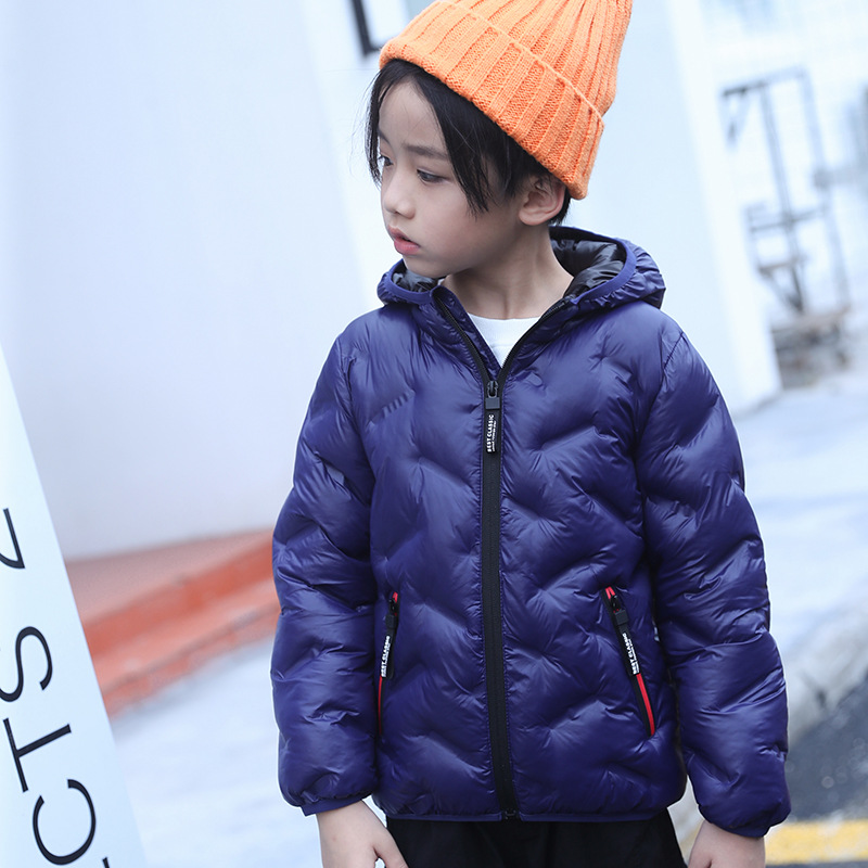 Boys & Girls Winter Jacket Coat Parkas 2018 New Fashion Casual Hooded Solid Long Children Jackets Coats Outerwear High Quality 2016 new arrival men s winter jacket casual slim fit fashion solid hooded man jacket winter warm high quality m 4xl