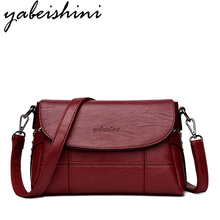 YABEISHINI Luxury Handbags Women Bags Designer high quility Leather Handbag The New Messenger Bag Shoulder 2018