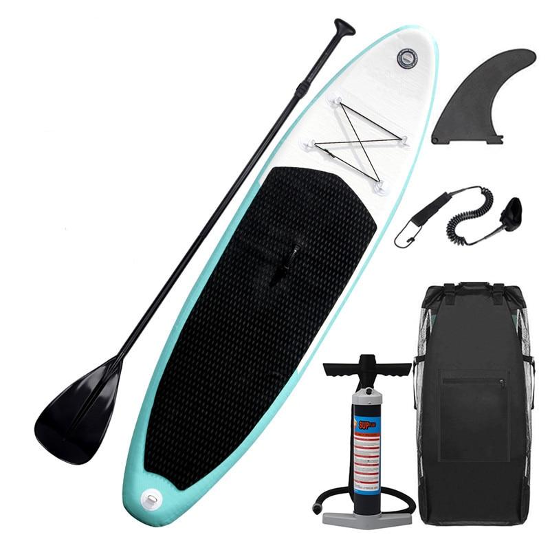 b4eef0e23 Inflável 305X76X15 CENTÍMETROS Placa Sup Stand Up Paddle Prancha de Surf  Board de Desportos Aquáticos com