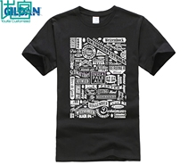 100% cotton O-neck printed T-shirt Craft Beer Types T Shirt Drink Lover Typography