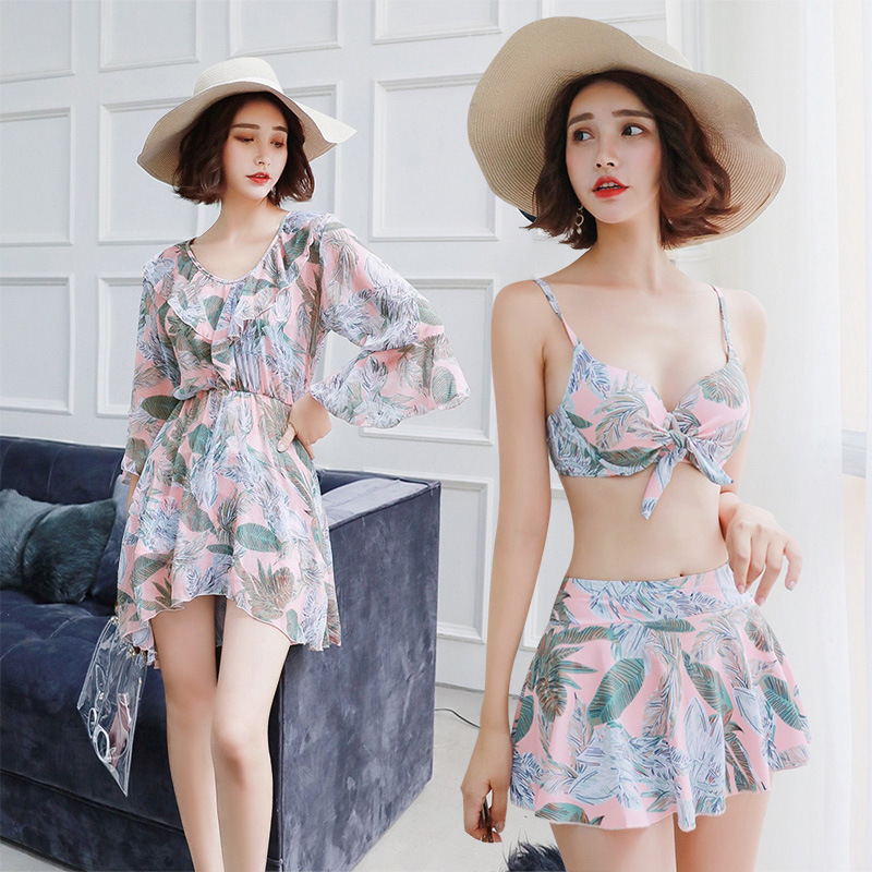 Swimsuit For Girls Tankini Swimsuits Women Girl Bikinis Female 2019 Sexy Come Korea Polyester Animal Tankini Swimsuits Women