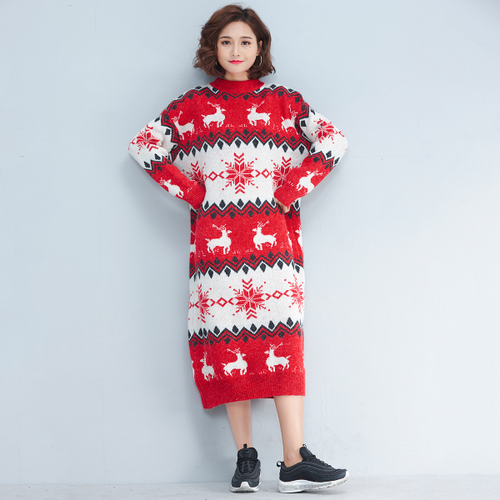 Jerseys amp; Grueso Khaki Invierno U381 Alto coincidentes Moda Je Otoño Suéter F E Cuello Largo De Casual red 2018 Nueva Mujeres Punto dwx6RxqOXa