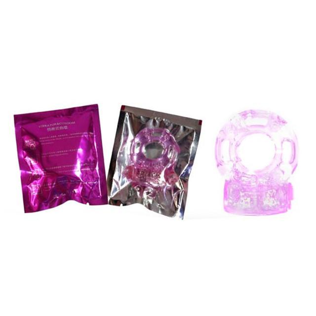 Wonderful Sex Products Men Vibrators Collars Delay Premature Lock Fine Sex Toys For Men Jan 20