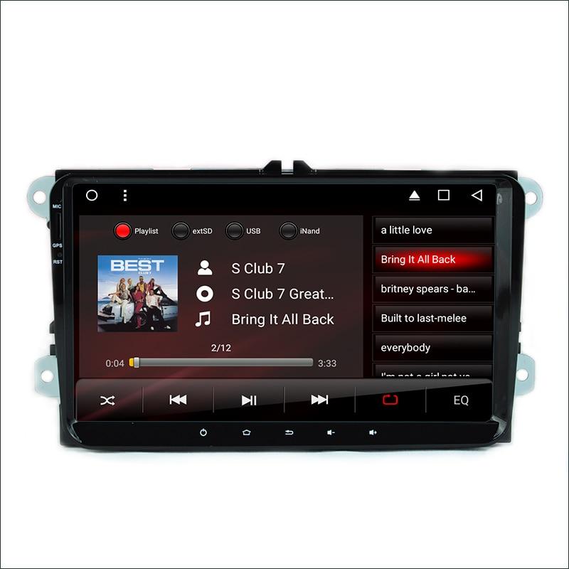 ᗑ9 polegada Android 6.0 DVD Do Carro para VW golf 4 golf 5 6 passat ... 982909ee04e