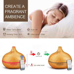 Image 4 - 550ml Ultrasonic  Air Humidifier Aroma Essential Oil Diffuser  Aromatherapy Electric household atomizer with Remote  Control