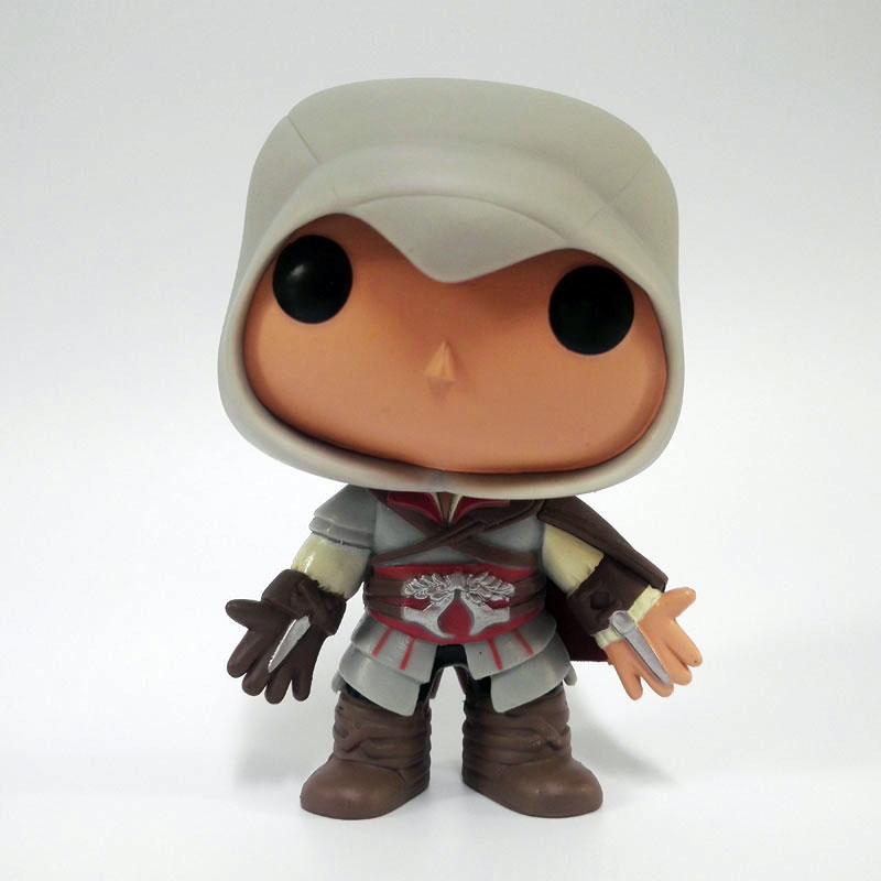 Funko POP Ezio 21# Games Assassins Creed Vinyl Action Figure Model Toy Collection Gift to Children Hot Sale
