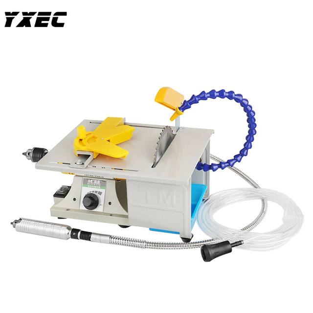 850W Multifunction Mini Table Saw Stone Polisher Jade Engraving Machine Grinding machine Table Saws Jade Cutting