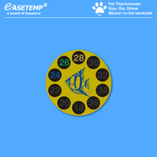 1000 шт./лот DHL Pet Car термометр для питомца(18-36 градусов г) для собак, кошек, птиц, рептилий и амфибий