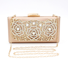 New Arrivals Wedding Bags Fashion Female Clutch Bags With Chain High-grade Women Evening Bag Luxurious Party Ladies Handbags цена