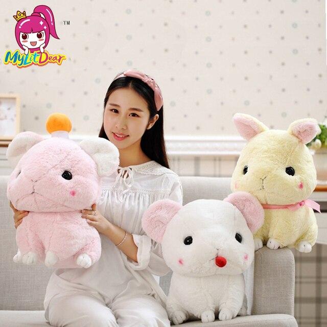 30cm 40cm Kawaii Soft Cute PP Cotton Animal Rabbit Plush Stuffed Doll Toys Pillow Cushion Christmas Gift