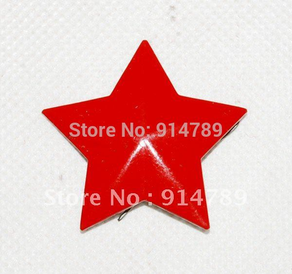 ORIGINAL CHINESE ARMY PLA CAP BADGE RED STAR -31888