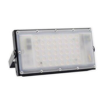 50 Вт Водонепроницаемый светодио дный прожектор IP66 AC85-265V 110 V 220 V светодио дный потока наружного освещения пятно света супер яркий Mordern DIY огни