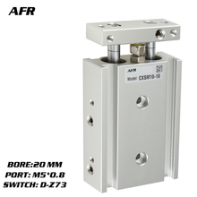 SMC Type Dual Rod Cylinder Basic TYPE double cylinder / shaft CXSM20-40 CXSM20-45 CXSM20-50 -Z73 -Y59A
