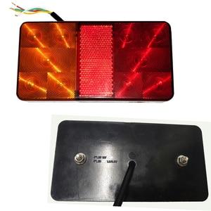 Image 3 - 2 chiếc AOHEWEI 10 Bóng Đèn LED 12 V LED Xe Kéo đèn Phía Sau Đèn Đuôi đèn Phanh Dừng Hướng Chỉ Báo Vị Trí đèn Led đèn xe kéo