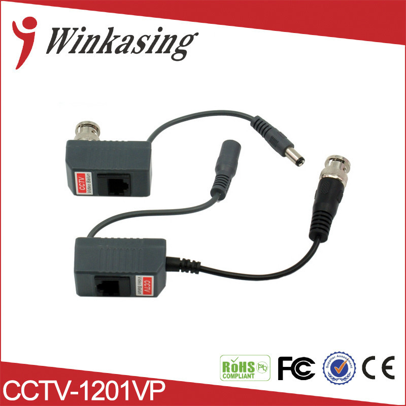 Wholesale New High quality Video Power Balun BNC CCTV Transceiver Cable 8pairs bnc to tj45 power video balun