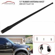 WISENGEAR 1 Pc Black 13 Inch Rubber Antenna Mast FM AM font b Radio b font