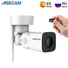 1080P Wifi 카메라 야외 PTZ 무선 감시 자동 줌 Varifocal P2P 오디오 마이크 야간 보안 IP 카메라