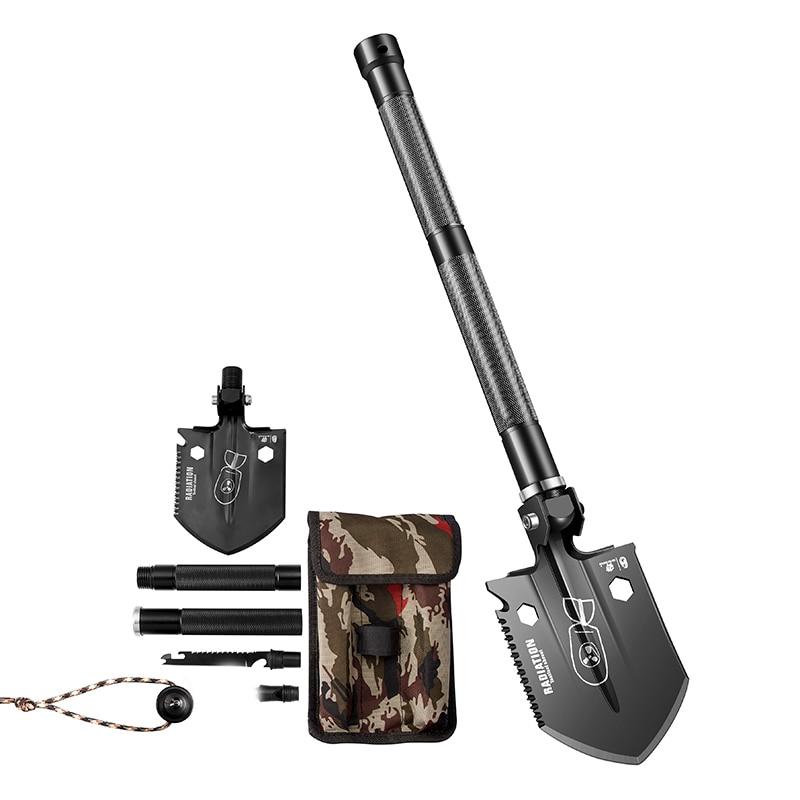 HX OUTDOORS Sapper Shovel Multifunction Camping Shovel Folding Shovel Outdoor Carry Gear Shovel Knife Tool Mini Good