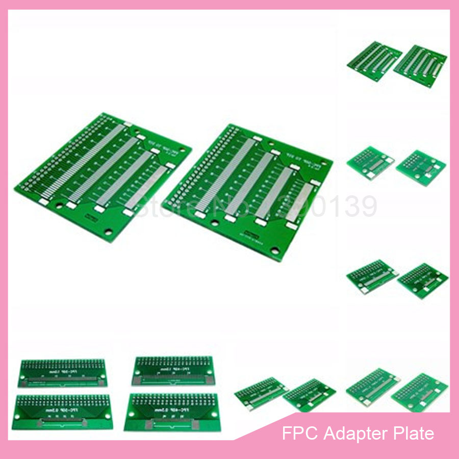 1Pcs 30 pin 0.5mm FFC FPC to 30P DIP 2.54mm PCB converter board adapter   AR