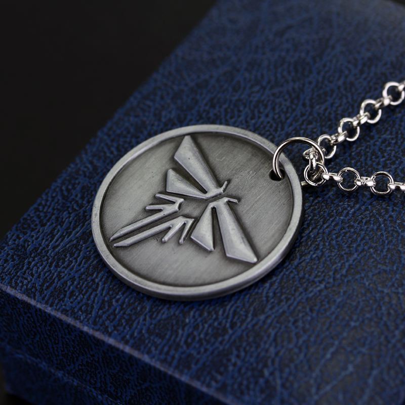 Feimeng jewelry the last of us necklace the last survivors round feimeng jewelry the last of us necklace the last survivors round grey firefly pendant necklace for men fashion accessories in pendant necklaces from jewelry aloadofball Image collections