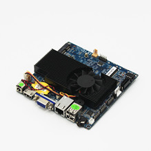 Mini super thin XHK-1037 -ITX micro industrial motherboard 12*12 main board industrial advertising machine