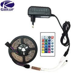 5 м 300 светодио дный s-водонепроницаемый RGB светодио дный полосы света 2835 DC12V 60 светодио дный s/M гибкие ленты освещения ленты белый/теплый