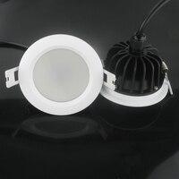 (1 יח'\חבילה) הגעה חדשה 15 W IP65 עמיד למים ניתן לעמעום led downlight עמעום אור ספוט led הוביל משלוח חינם מנורת תקרת SMD15W
