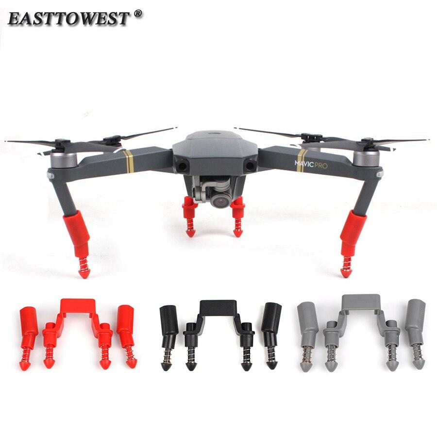 Easttowest DJI Mavic Pro Drone Accessoires Antichoc Printemps Conception Train D'atterrissage Drone Soutien Du Corps