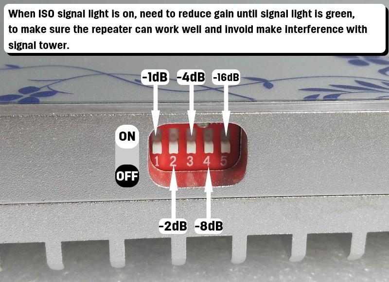 lintratek 3G WCDMA 2100 Penguat Sinyal Ponsel MGC (Band 1) 2100 - Aksesori dan suku cadang ponsel - Foto 6