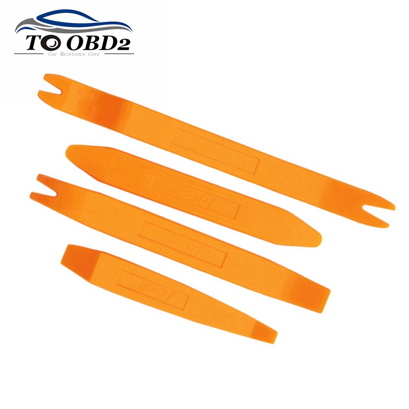 Hand Tool Sets Car Disassembly Tool Interior Refit Kit 4pcs/Set Car DVD Player Trim Panel Dashboard Audio Removal Installer