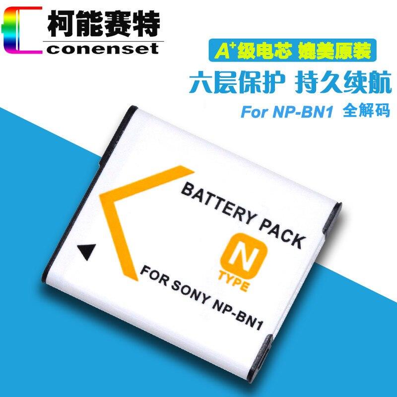 CONENSET NP-BN1-BN Batteria Ricaricabile per Sony DSC-W710 DSC-W730 DSC-W800 DSC-W810 DSC-W830 DSC-WX9 DSC DSC-WX200 Fotocamera