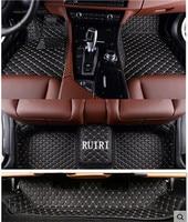 Good quality car rugs! Custom car floor mats for Audi Q7 7 seats 2018 2015 waterproof salon carpets for Q7 2017,Free shipping