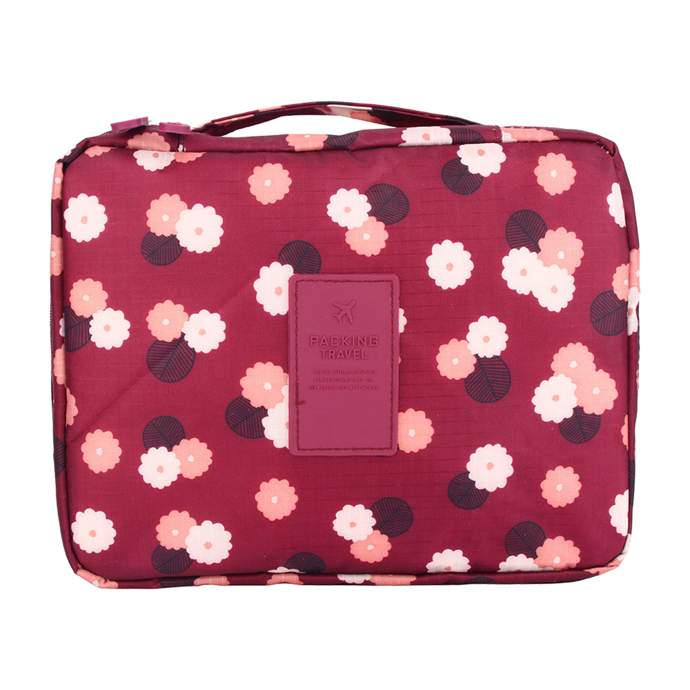 1pcs travel cosmetic makeup toiletry case wash organizer storage pouch hanging bag bathroom storage bags
