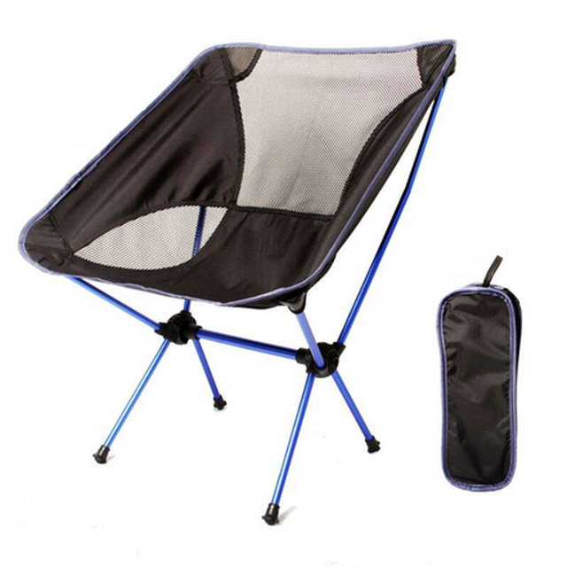 Folding Moon Chair Ultra Light Folding Fishing Chair Seat For Outdoor  Camping Leisure Picnic Hiking Outdoor