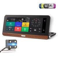 685 HD 1080P 7 Inch Touch Screen Car DVR Smart Car Rear View Mirror Video Record