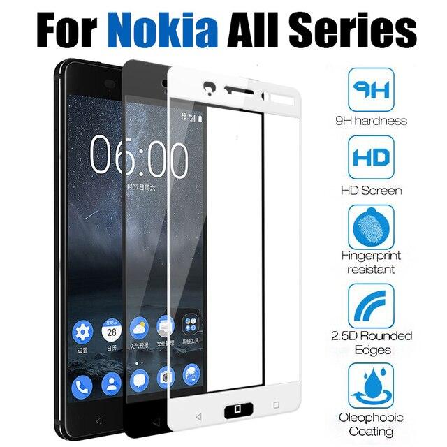 Защитное стекло для nokia 7x6 Защитная пленка для экрана noka tremp 6 2018 nokia 6 7,1 8 8,1x5 5,1 6,1 plus закаленное стекло
