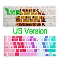 """Тайский Язык силиконовый чехол кожи протектор для Apple MacBook Air Pro Retina 13 15 17 нами для Mac Book 13.3 """"15.4"""""""