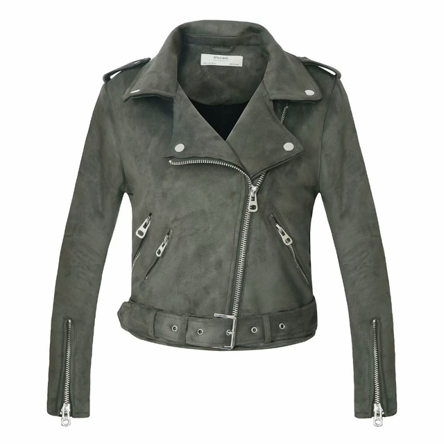 New Arrial Winter Suede Faux Leather Jackets 2