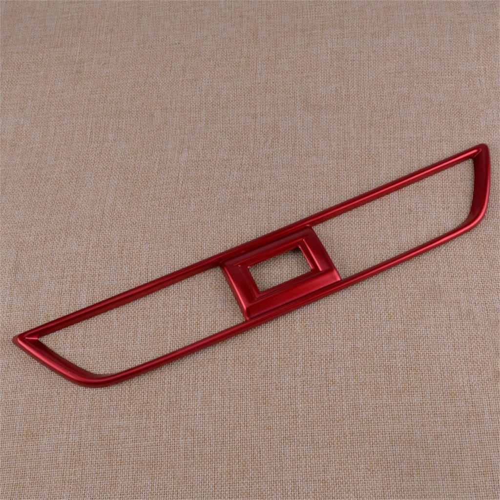 New Red ABS Car Interior Center Dashboard Air Vent Outlet Trim Cover Sticker Panel Fit For <font><b>Honda</b></font> <font><b>Accord</b></font> <font><b>2018</b></font> <font><b>Accessories</b></font> image