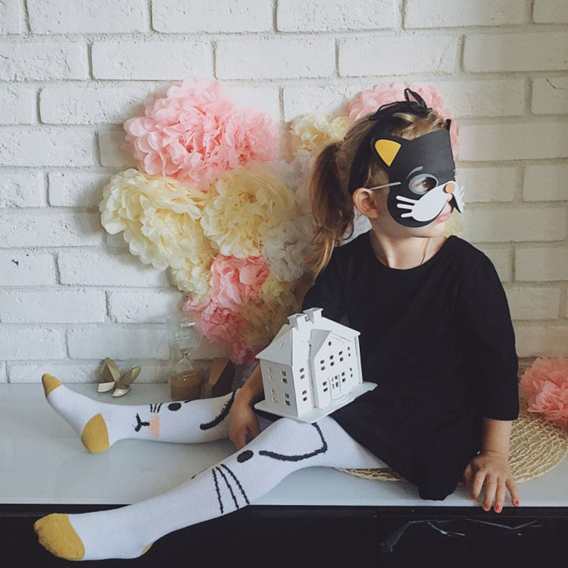Image 5 - High Quality 12 pcs/lot New Fashion Handmade Children's Mask Animal Shape For Kids Party Decoration Mask Random Mixed-in Party Masks from Home & Garden