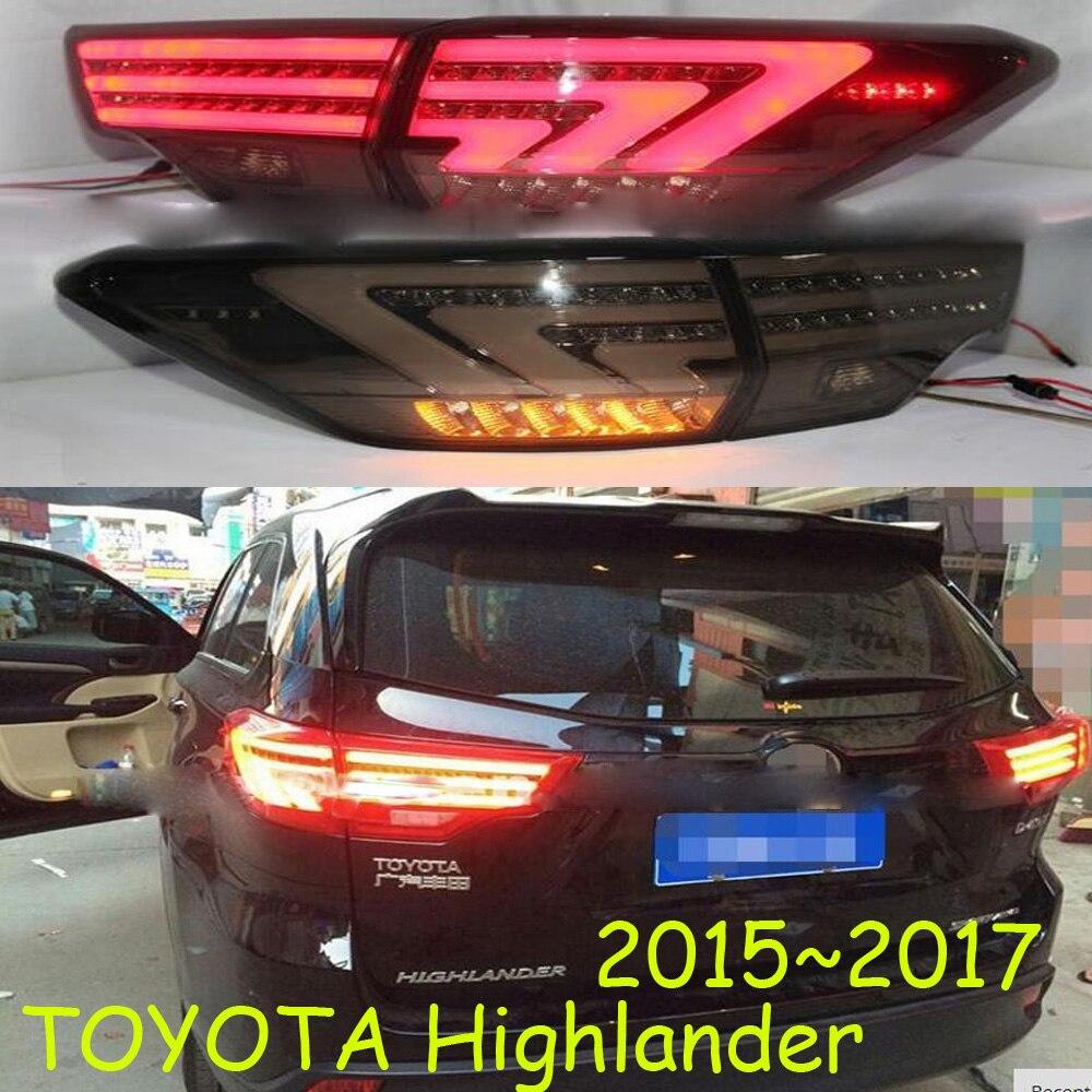 Highlander taillight,2015~2017,LED,Free ship!vios,corolla,Hiace,tundra,sienna,yaris;Highlander rear lamp