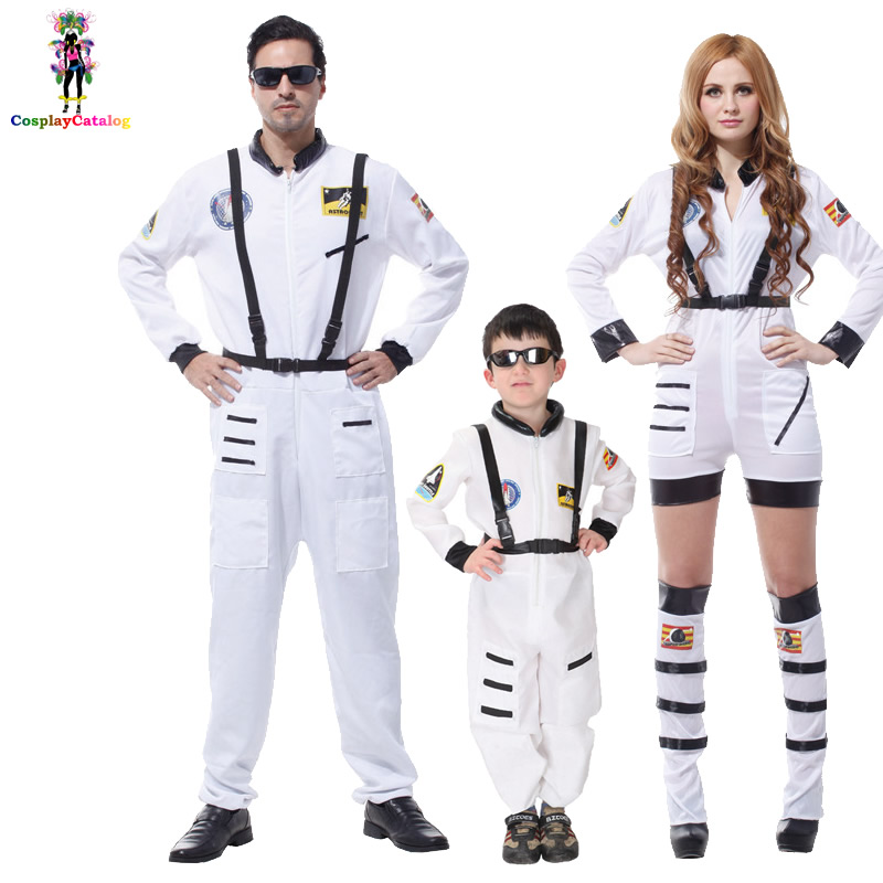Halloween Family Disguise Space Astronaut Commander ...