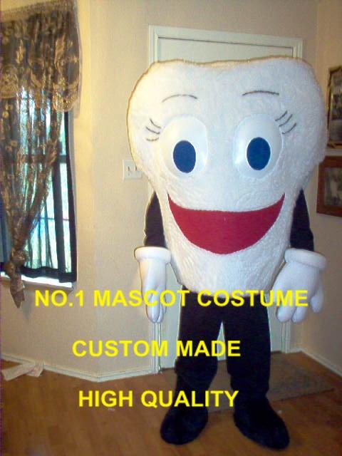 Anime Cosply Costumes dent mascotte costume adulte dessin animé personnage santé dent thème anime cosplay mascotte fantaisie robe 1819