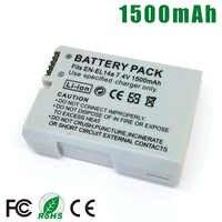 EN-EL14a ENEL14a es EL14 una batería para Nikon D3100 D3200 D3300 D3400 D5100 D5200 D5300 DF D5500 D5600 P7000 P7100 p7700 P7800