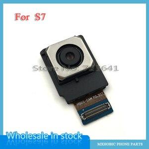 Image 3 - 10 Chiếc Phía Sau Lưng Camera Cáp Mềm Cho Samsung Galaxy S6 S7 Edge S8 S9 S10 Plus S10E G920F G930F g935F G950F G955F Chính Lớn Cam