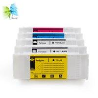 700 ml Kompatibel Einweg Tinte Patrone für Epson T3200 T5200 T7200 Drucker-in Tintenpatronen aus Computer und Büro bei